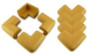 8 x AKORD® BABY SAFETY CORNER PROTECTORS FOR DESK TABLE FURNITURE - SAFE FOR CHILD/KIDS