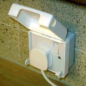 BabySecurity Single Electric Plug Socket Cover