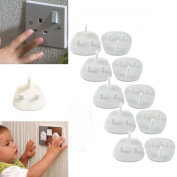 child safety 10 plug socket covers dispatched from gt-products