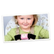 Belt Up Kidz Shoulder Strap Buckle Pink