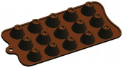 silicone chocolate mould-dome shape