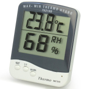 Portable Room Digital C/F Thermometer Temperature Humidity Hygrometer Metre New