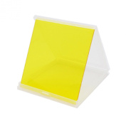 Phot-R® P-Series 84mm Yellow P001 Square/Rectangle Colour Filter Compatible with Cokin and Hitech