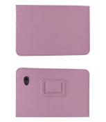 Mr.Gadget Solutions® Branded PU Leather Stand Case For for for for for for for for for for for Samsung Tab 2 18cm P3100 With Free Stylus + Screen Protector + Cleaning Cloth - Baby Pink