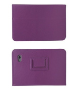 Mr.Gadget Solutions® Branded PU Leather Stand Case For for for for for for for for for for for Samsung Tab 2 18cm P3100 With Free Stylus + Screen Protector + Cleaning Cloth - Purple