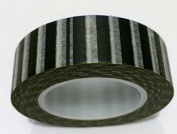 Black Sailor Stripe Japanese Washi Tape - *15mm x 15M* - TWILIGHT PARTIES