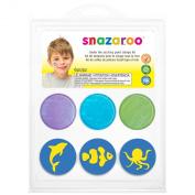 Snazaroo Under The Sea Face Paint Stamp Kit