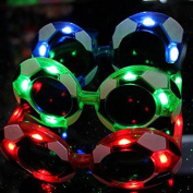 World Cup Football Flashing Glasses Novelty Party Props Supplies