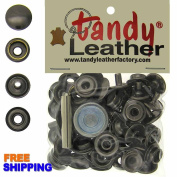 Tandy Line 24 Snaps 15 Set with Tool