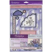 Smudge & Mitten (And Rascal Too!) A4 Card Kit-Dream Cloud Wrap