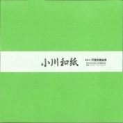 Ogawa(hosokawa) Washi Single Colour Paper 25cm(9.84 In), No.11 Lime Green, 50sheets