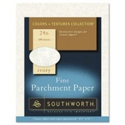 - Parchment Specialty Paper, Ivory, 11kg., 8-1/2 x 11, 100/Box