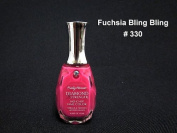 Sally Hansen Diamond Strength Nail Colour 15ml - 330 Fuchsia Bling Bling - FREE SHIPPING on Orders $35 and Over