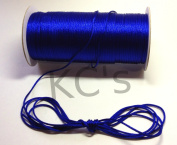 50 Yards - 2mm Royal Blue Satin Rattail Cord Chinese/china Knot Rat Tail Jewellery Braid 100% Polyester