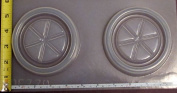 Two coaster reusable plastic mould 770