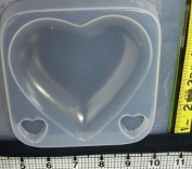 Reusable plastic heart mould 662