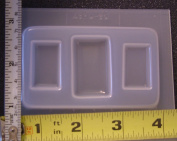 Rectangle cabochon jewellery set mould 387