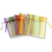 Organza Drawstring Gift Bag Pouches Mix Stripe