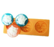 Cat Silicone Resin Clay Moulds Handmade Resin Mould Polymer Clay Mould