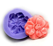 Beautiful Flower Silicone Resin Clay Moulds Handmade Resin Mould Polymer Clay Mould