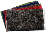 Lisa Pavelka Fantasy Foil Collection, Black/Gold, Black/Silver, Ruby Red, Lime Green, Royal Blue and Violet