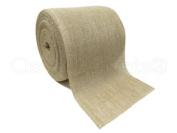 CleverDelights 30cm Natural Burlap Roll - 10 Yards - Eco-Friendly Jute Burlap Fabric - 30cm