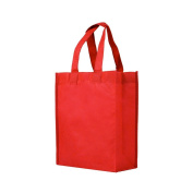 Reusable Gift / Party / Lunch Tote Bags - 25 Pack - Red