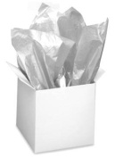 Cakesupplyshop Package Extra Large 24pack Sparkling Shimmering Metallic Silver Gift Wrap Tissue Paper
