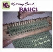 Weave and Hook Knitting Board Basic II 90 minute How-To DVD Instruction