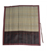 Bamboo Calligraphy Brush Holder Rollup Protection 38cm x 36cm - Large