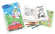 Primary Colours Peppa Pig OTG Colouring Pouch