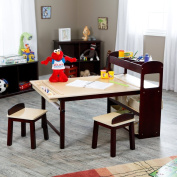 Guidecraft Guidecraft Kids Deluxe Art Centre, Wood, Table 21H in.
