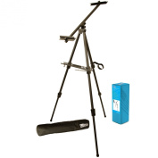 US Art Supply Large Watercolour Aluminium Metal Easel