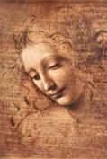 24x36 Leonardo Da Vinci - Female Head