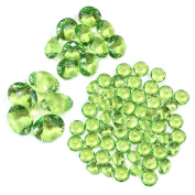 Koyal Wholesale Centrepiece Vase Filler High Quality Acrylic Diamonds, Lime Green