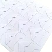 Hellohelio Self-Adhesive Photo Corners (Pack Of 240) White