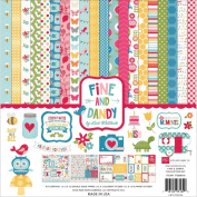 Echo Park Paper Company Fine and Dandy Collection Kit