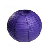 Domire 12 Pcs 25cm Purple Chinese Paper Lanterns/lamps for Parties, Weddings