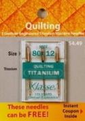 Klasse' Quilting Titanium Needles 80/12