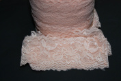 Stretch Lace Elastic - 5 Yards - 5.1cm Wide - Trim Lace for Headbands Garters