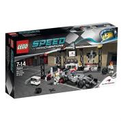 LEGO Speed Champions McLaren Mercedes Pit Stop Set #75911