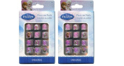 Disney Frozen Elsa, Anna & Oalf 12 Pc Press-on Nails X 2