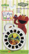 ViewMaster Elmo's World - Learning with Elmo - 3 Reels on Card - NEW