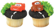 Oasis Supply Disney Cars Mater and McQueen 12 Count Cupcake Rings, Assorted