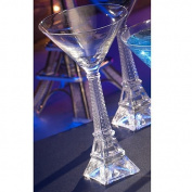 Eiffel Tower Stem Glass
