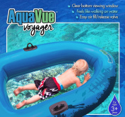 AQUAVUE Voyager - Clear Bottom Inflatable Raft