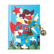 Superhero Locked Diary