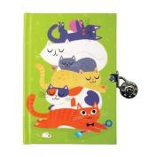 Cats Locked Diary