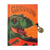 Dinosaur Locked Diary