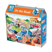 On the Road 63 Piece Puzzle